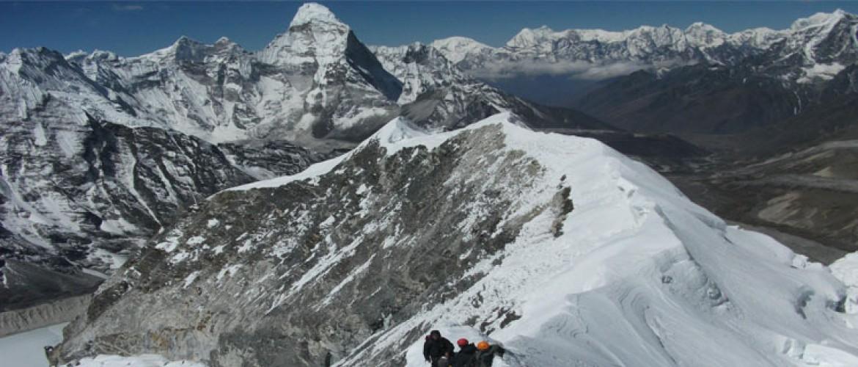 Island Peak Summit from Chhukung